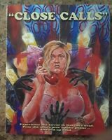 Close Calls Limited Layer Blu-ray with OOP SLIPCOVER (500 in existence) NEW Rare