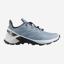 SALOMON  Women's SUPERCROSS BLAST Trail Running Shoe Ashley Blue/White/Ebony