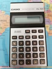 Casio Electronic Calculator Hl 101