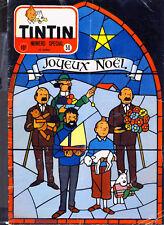 TINTIN (Edition Belge)   n°  50  du 12  décembre 1957 + sans le calendrier 1958
