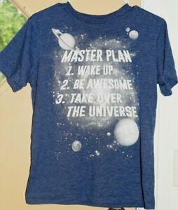 Place Graphic Shirt BOYS Sz XL 14 Blue GC!