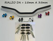 MANUBRIO PIEGA BASSA RACE 22/22 + RIALZI + CONTRAPPESI per MOTO NAKED BUELL
