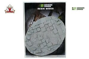 Gamers Grass Temple Resin Bases Oval 120mm (x1) New
