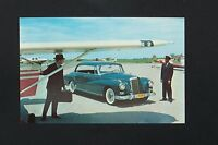 Mercedes adenauer Owners postcard brochure 300 d original w189  ponton new