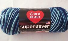 Red Heart Super Saver Yarn Shaded Dusk Acrylic 5oz