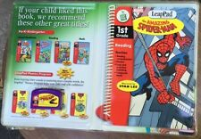 LeapPad Software -1St Grade: Spider-Man, New Free Shipping