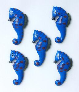 5 Magnete Seepferd Pinnwandmagnet Pin Seepferdchen Pins Seepferdmagnete Seepferd