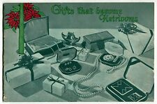 Old Jewelry Store Catalog: Watches, Telechron Clocks, Sterling + [Glendale, CA]