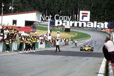 Alain Prost Renault RE40 Winner Austrian Grand Prix 1983 Photograph