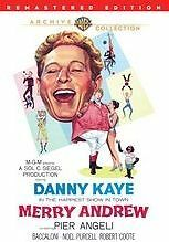 MERRY ANDREW (Danny Kaye Remastered) Region Free DVD - Sealed