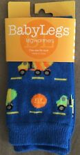 *NWT* BabyLegs Brand* Leg Warmers/Arm Warmers In Mixer Print* Blue Yellow *