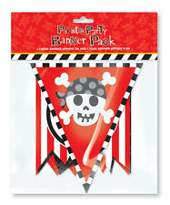 Pirate Party Children's Happy Birthday Party Banner Pack