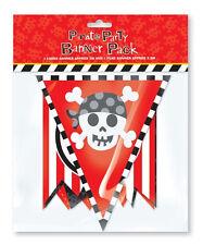 Partito Pirata Children's Happy Birthday Party Banner Pack