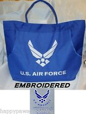 brodé États-Unis US AIR FORCE ailes résistant Sac bag-beach shopping