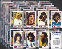 ROTHMANS-FULL SET- FOOTBALL INTERNATIONAL STARS (M50 CARDS) MARADONA PELE EXC+++