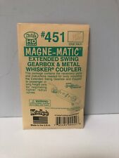 Kadee 451 HO Magne-matic Extended Swing Gearbox & Metal Whisker Coupler