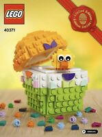 LEGO Exclusive 40371 Customizable Easter Egg with Chick BRAND NEW! Sealed!