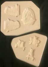 Slip Casting Ceramic Pottery Mold For Chatty Chicken & Owl Magnet Holders