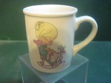 Precious Moments Collectible 8 Oz Coffee Mug / Cup 1995 The Purr-Fect Grandma