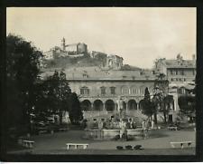Italie, Gênes, villa del Principe  Vintage silver print,  Tirage argentique