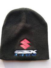 Suzuki GSX 1400 Beanie Hat - Black - Fully Embroidered - 3 Colour Logo - GSX1400