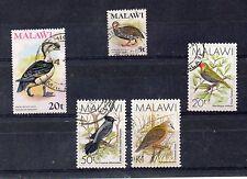 Malawi Fauna Aves valores del año 1975-88 (DE-479)