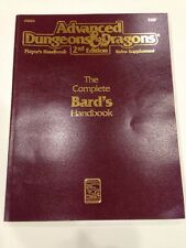 TSR 2127 Advanced Dungeons & Dragons 2nd Ed. The Complete Bard's Handbook (1992)