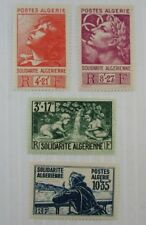 1946 Algeria SC #B47-50  MH stamp set