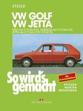 REPARATURANLEITUNG SO WIRD´S WIRDS GEMACHT 10 VW VOLKSWAGEN GOLF JETTA SCIROCCO