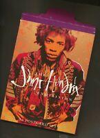 Jimi Hendrix-Exhibition postcard set of 16 cards