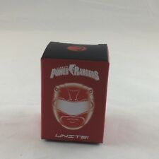 Loot Crate Power Rangers RED RANGER Miniature Figure Unite 1/5 In Box Sealed