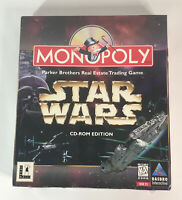 Monopoly Star Wars CD-ROM Game, Big Box, New-Sealed With Toys 'R' Us Sticker