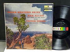 REX ALLEN with VICTOR YOUNG Under western skies DL 8402