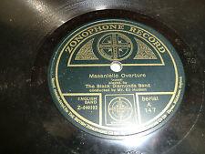 The Black Diamonds Band, Masanielo Overture en Light Cavelry Overture.