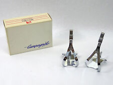 Campagnolo C Record Toe Clips Adjustable Vintage Road Racing Bicycle pedal NOS