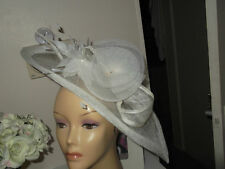 Fascinator / hat Wedding Ascot Races cream Ivory Prom bridal party