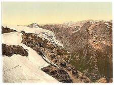 Stilferjoch Road  Payerhutte Tyrol A4 Photo Print