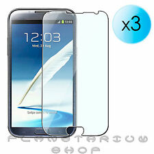 Pack 3 Protector SAMSUNG GALAXY NOTE 2 N7100 / N7105 sheets of screen