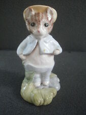 Compleanno-Regalo di Natale-Beswick Beatrix Potter Figura TOM GATTINO nel rockery