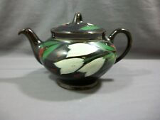 Vintage Tea Pot Royal Canadian Art Pottery Hamilton Canada, Royal Dripless Brown