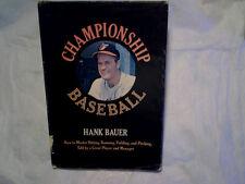 1968 CHAMPIONSHIP BASEBALL Hank Bauer baltimore orioles,bill hunter,etchebarren