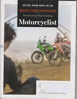 Motorcyclist September/October 2017 Mosul Sidecar Escape (Magazine: Motorcycle)