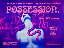 "POSSESSION 1981 SAM NEILL repro uk quad poster 30x40"" VIDEO NASTY PRE-CERT"