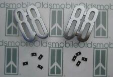"1955 Oldsmobile ""88"" Fender Emblem Numerals w/ Hardware.Chrome Pair"