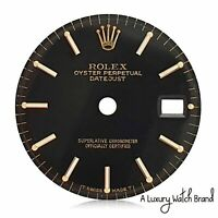 Original Rolex Datejust Two-Tone Black Index Dial for Ladies 26mm Watch