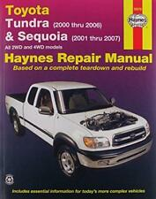 Automotive Repair Manual for 2WD and 4WD Toyota Tundra, '00 thru '06 and