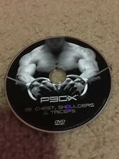 P90X Chest, Shoulders & Triceps DVD 09 Disc 9 Tony Horton Replacement DVD