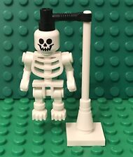 Lego New Hospital Skeleton Anatomy Thick Shoulder Pins Mini Figure Display Stand