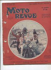 Moto Revue N°599  ; 1er septembre 34 : Terrot 750 2 cylindres / Prester