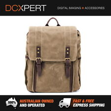 ONA The Camps Bay Backpack Field Tan for DSLR 7 Lenses Leather Camera Bag